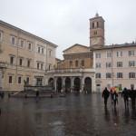 Piazza de Santa Maria in Trastevere