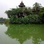 Hotel del lago Kandawgyi