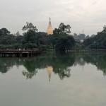 Reflejo de Shwedagon Paya