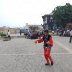 Bailarín étnico