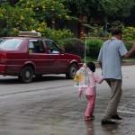 Señor e hija