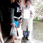 Con el Dr. Ho