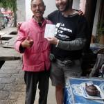 Con el Sr. Yang