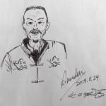 Dibujo del Sr. Yang