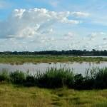 Panorámica del río Mekong por Vientiane