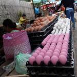 Huevos rosas