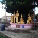 Budas de Wat Kang