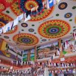 Techo de Wat Si Vieng Song