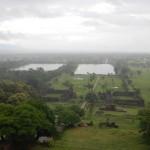 Vistas del complejo de Wat Phu