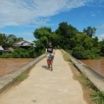 Cruzando el puente...