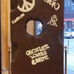 El muro de chocolate