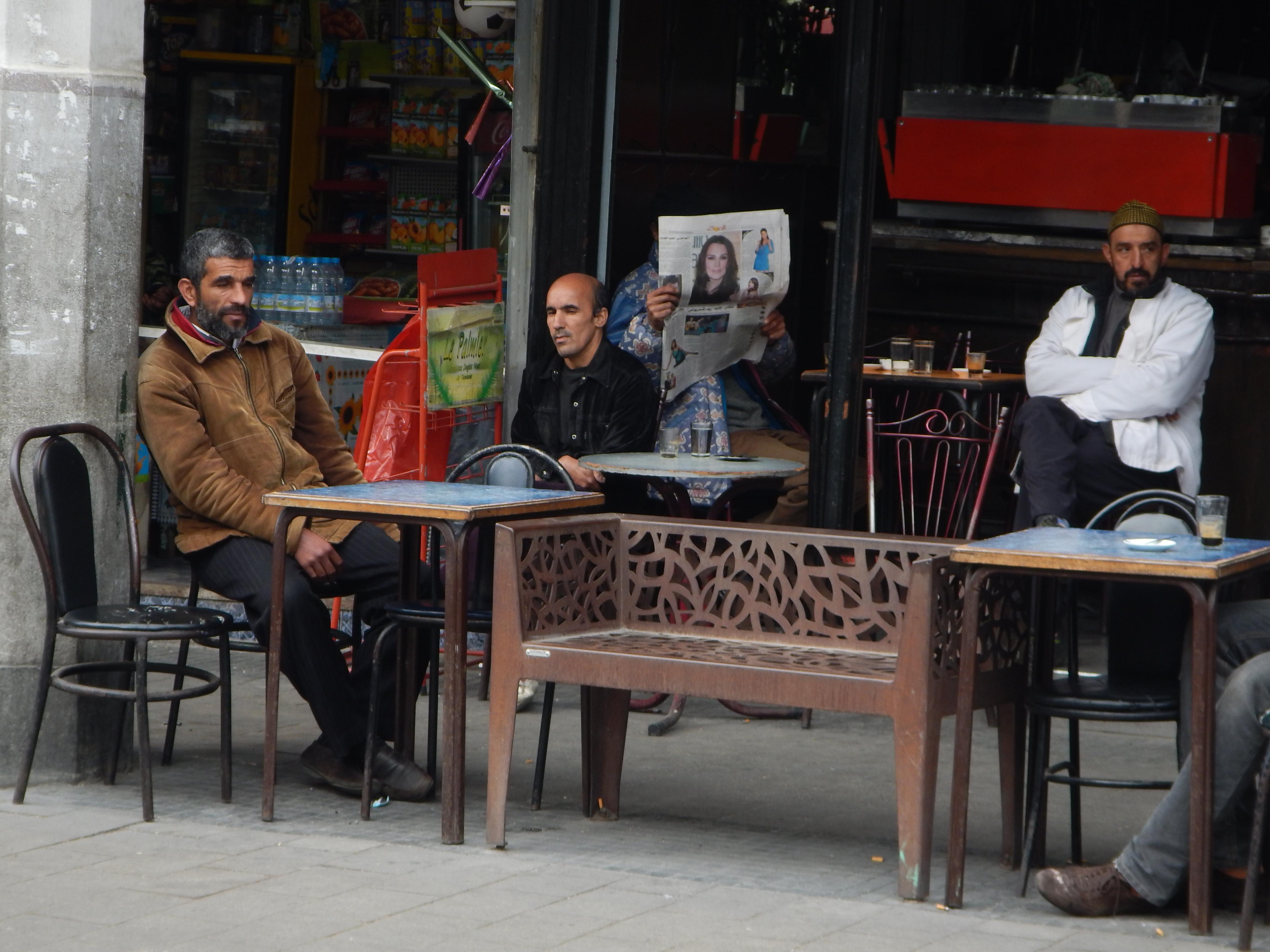 Café en el Blv. Mohammed V