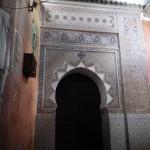 Puerta de mosáico