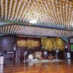 Interior del pabellón central